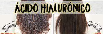 Alisado con ácido hialurónico
