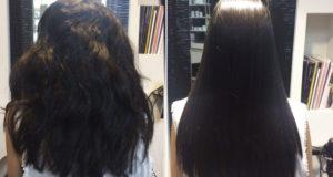 alisado japones de cabello